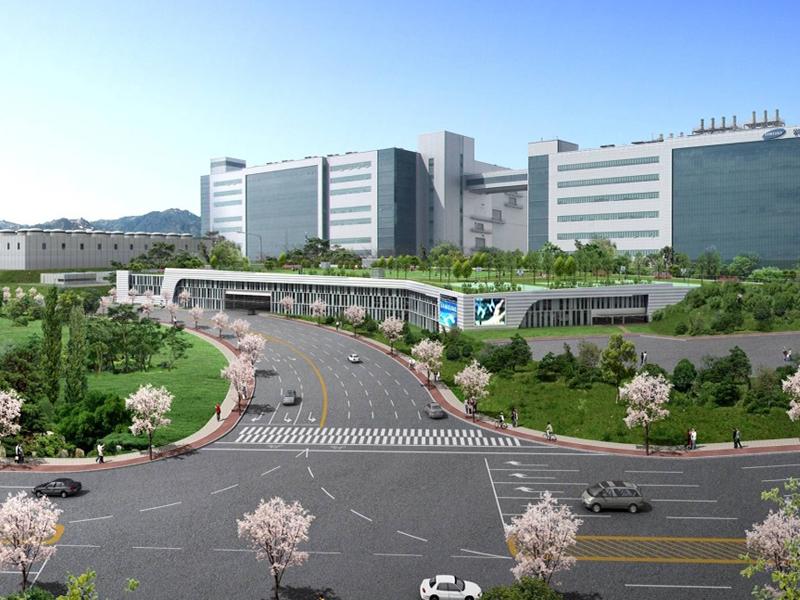 삼성전자 탕정 정문주차타워(1)