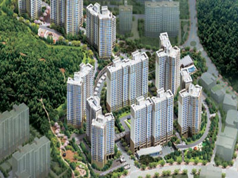 용인 중동 서해아파트 옥상조형물 PC화공사